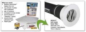 AstroSolar Filter Holder for Telescopes